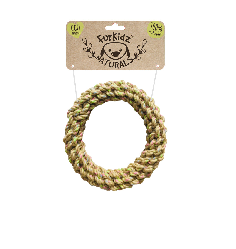 Natures Choice Jute Rope Ring 18x18cm (280-290gm)