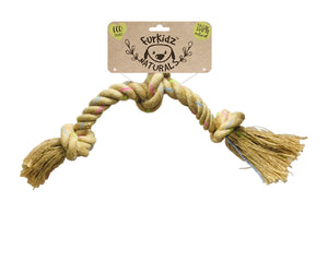 Natures Choice Triple Knott Rope Toy 58cm (400-410gm)