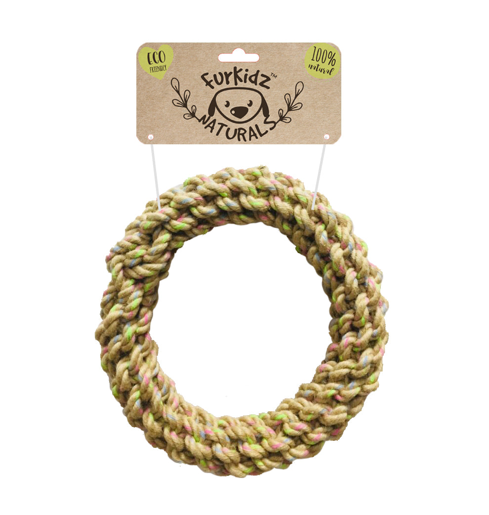 Natures Choice Jute Rope Ring 22cm (350-360gm)