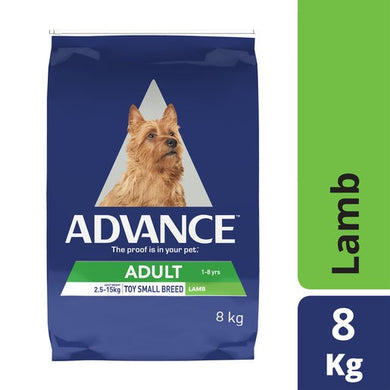 Advance Dog Lamb & Rice Toy Breed 8kg
