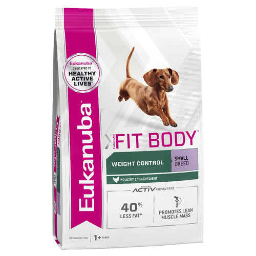 Eukanuba Dog Weight Control Small Breed 3kg