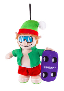 Kazoo Christmas Skateboarding Elf - Medium