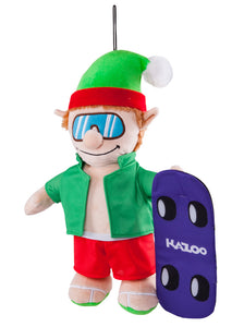Kazoo Christmas Skateboarding Elf - Large