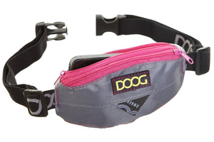 Doog Mini Belt Grey With Pink