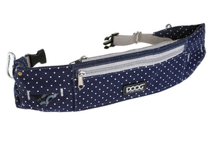 Doog Walkie Belt - Stella - Navy Polkadot