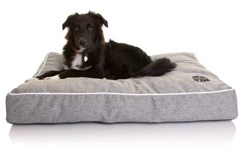 Doog Bed Grey rectangular