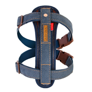 Ezy Dog Harness Chest Plate Denim