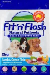 Fit & Flash Grain Free Lamb & Ocean Fish 2kg