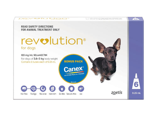 Revolution Dog Small 2.6kg-5Kg