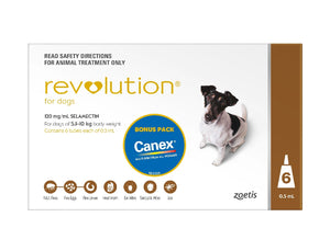 Revolution Dog Medium 5.1kg-10Kg