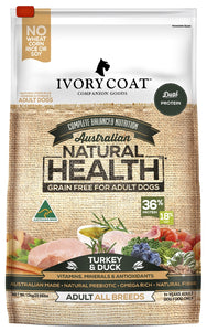 Ivory Coat Adult Turkey & Duck 13kg