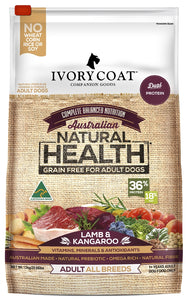 Ivory Coat Adult Lamb & Kangaroo 13kg
