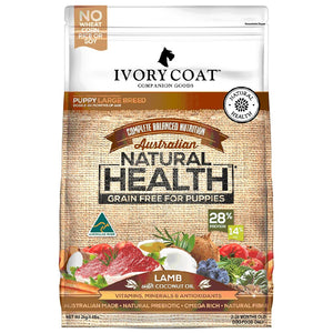 Ivory Coat Puppy Large Breed Lamb & Coconut 2kg