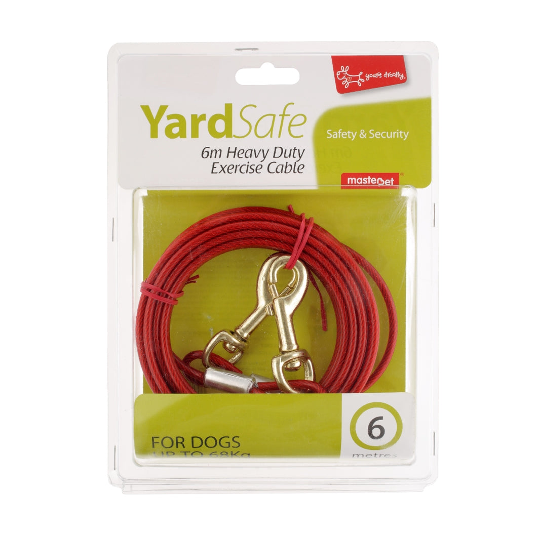 Yours Drooly Tie Out Cable 6 mtr