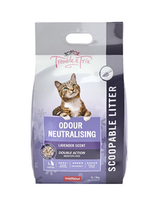 Trouble & Trix Clumping Litter with Lavender 7 ltr