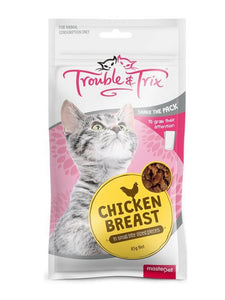 Trouble & Trix Cat Treat Chicken Breast 85g