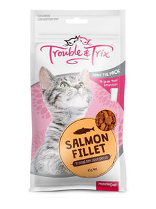 Trouble & Trix Cat Treat Salmon Fillet 85g