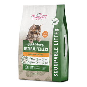 Trouble & Trix Natural Cat Litter 10 ltr