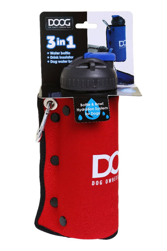 Doog 3 In 1 Bottle Red