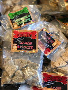 We Know Pets Doggie Bag Salmon flavour biscuits, all natural treat!