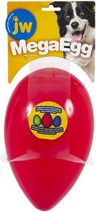 Jw Mega Egg Large (25.5cm X 16cm) Red