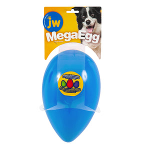 Jw Mega Egg Medium (17.5cm X 7cm) Blue