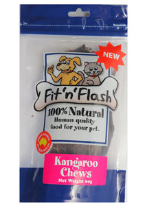 Fit 'n' flash Kangaroo chews 60gm 4 PACK BULK BUY. Save $4.00