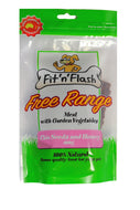 Fit'n'Flash free range meat with garden vegetables- chia seeds and honey -100% natural 100gm, 4 pack bulk buy.