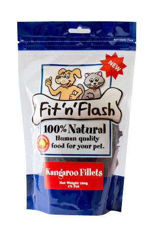 Fit 'n' flash Kangaroo fillets- 120gm