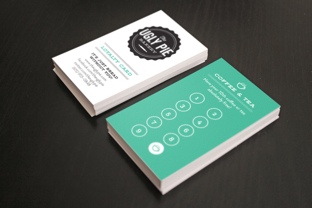 Custom Quoted Business Card