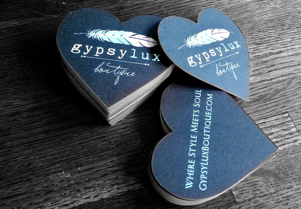 Heart Shaped Business Card
