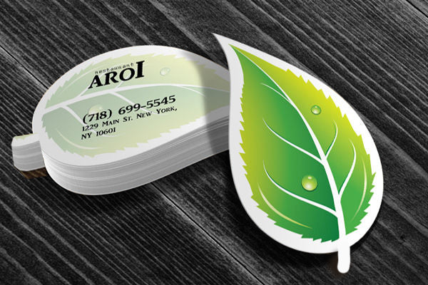 Leaf Shaped Business Card (free freight)