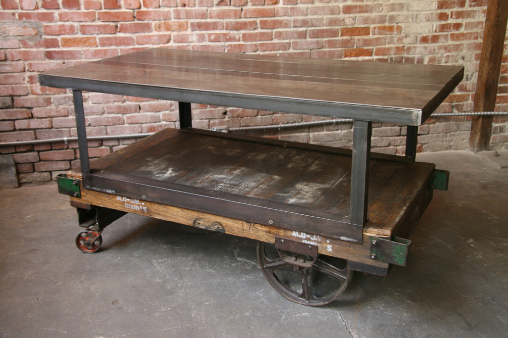 Interior Design: Industrial Carts