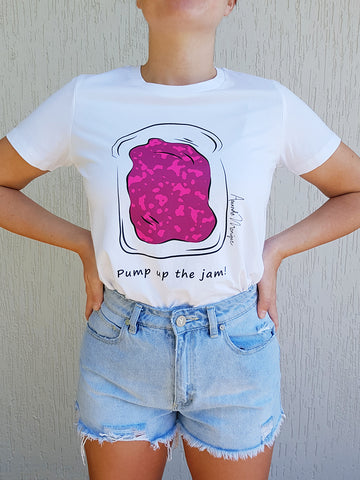 """Pump up the jam"" Tee"