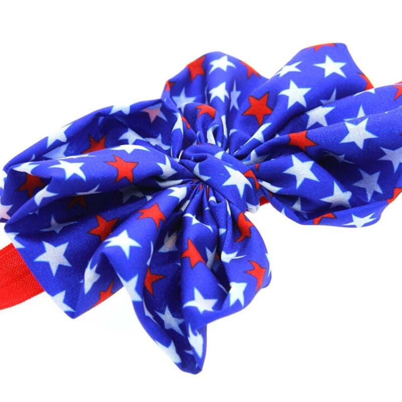 FREE 4th of July Baby Headband For Girls