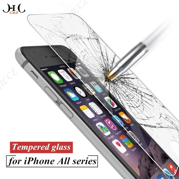 Premium Tempered Glass for iPhone Series