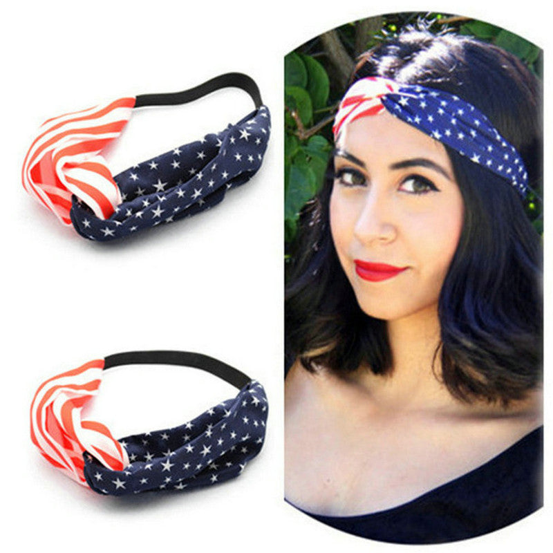 FREE 4th of July USA Headband