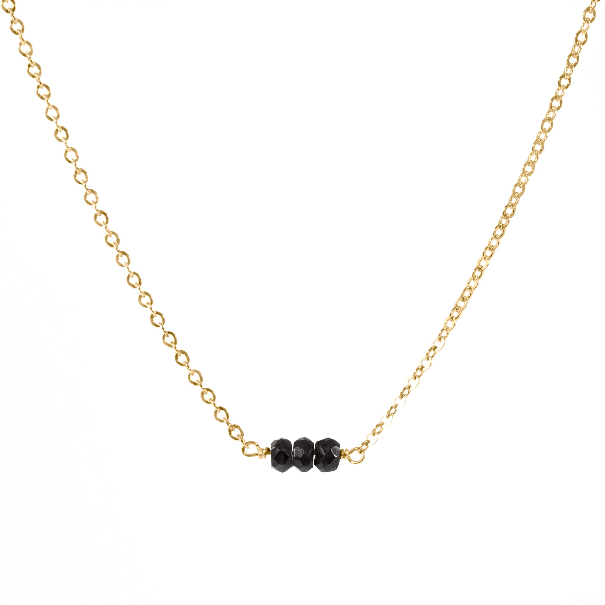 bradby detail necklace black necklaces and row jewellery spinel pearl claudia by grey triple
