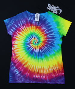 Tie Dye Women's V-Neck Size 2XL #015
