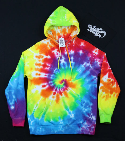 Tie Dyed Unisex Hoodie Size L #03