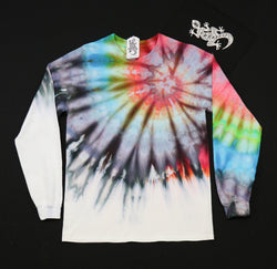 Tie Dye Unisex Long Sleeve Tee Size Medium #011