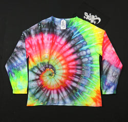Tie Dye Unisex Long Sleeve Tee Size 3XL #01