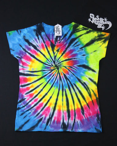 Tie Dye Women's V-Neck Size 2XL #08