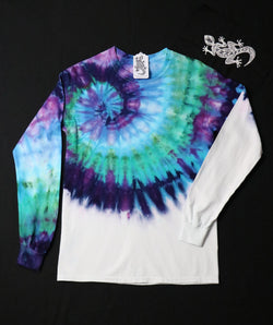 Tie Dye Unisex Long Sleeve Tee Size Small #06