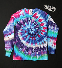 Tie Dye Unisex Long Sleeve Tee Size Small #05