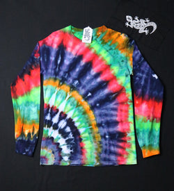 Tie Dye Unisex Long Sleeve Tee Size Small #07