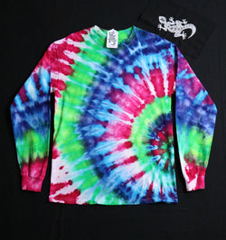 Tie Dye Unisex Long Sleeve Tee Size Medium #08