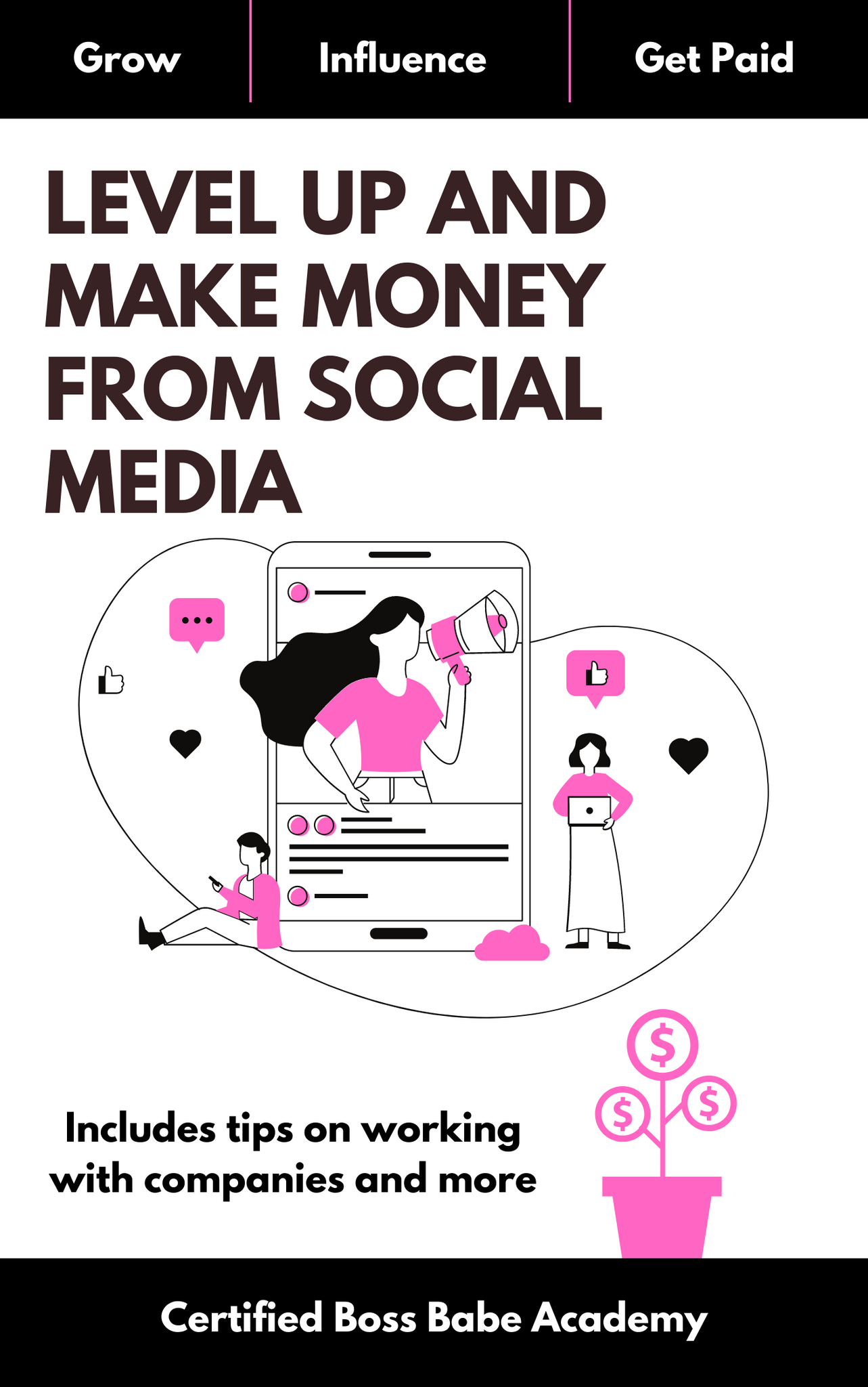 Level Up And Make Money From Social Media- EBOOK (6008360272055)