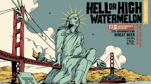 21 st Amendment Hell or High Watermellon Wheat 6-pk cans - Beernow.us - Ross Beverage