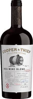 COOPER & THIEF - RED BLEND Bourbon Barrel Aged - Beernow.us - Ross Beverage